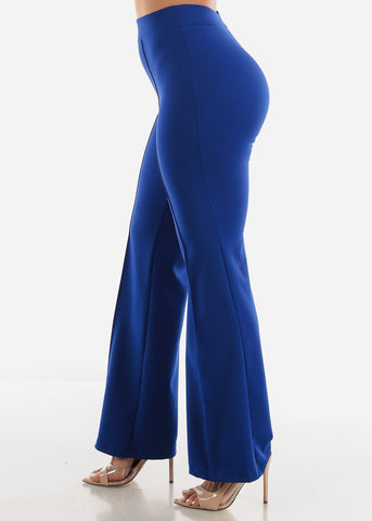 Image of Royal Blue Wide Legged Pants