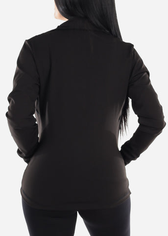 Activewear Black Zip Up Jacket