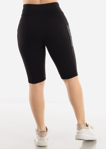 Image of Black Activewear Shorts