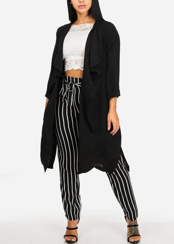 Stylish Oversized Black Blazer