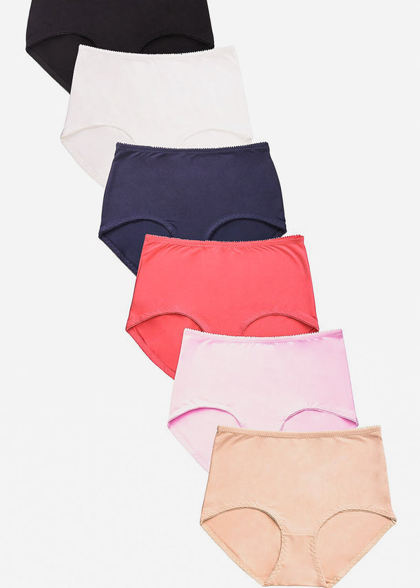 Brief Panties ( 6 PACK )