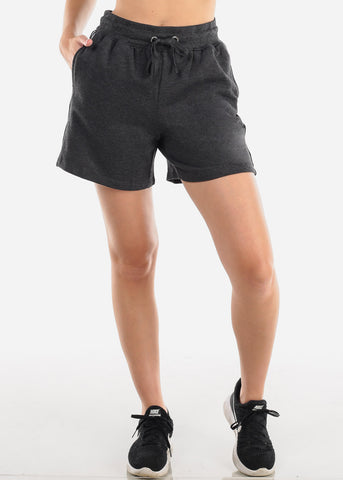 Image of Activewear Charcoal Shorts