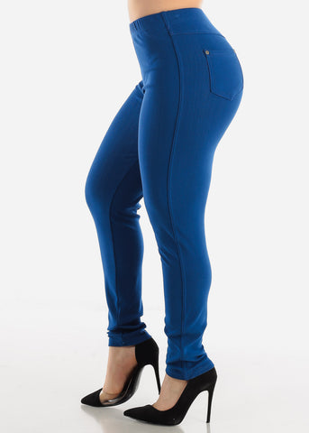 Royal Blue Jeggings