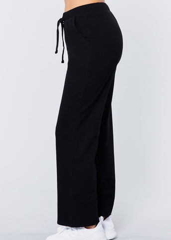 Image of Cozy Wide Leg Drawstring Pants