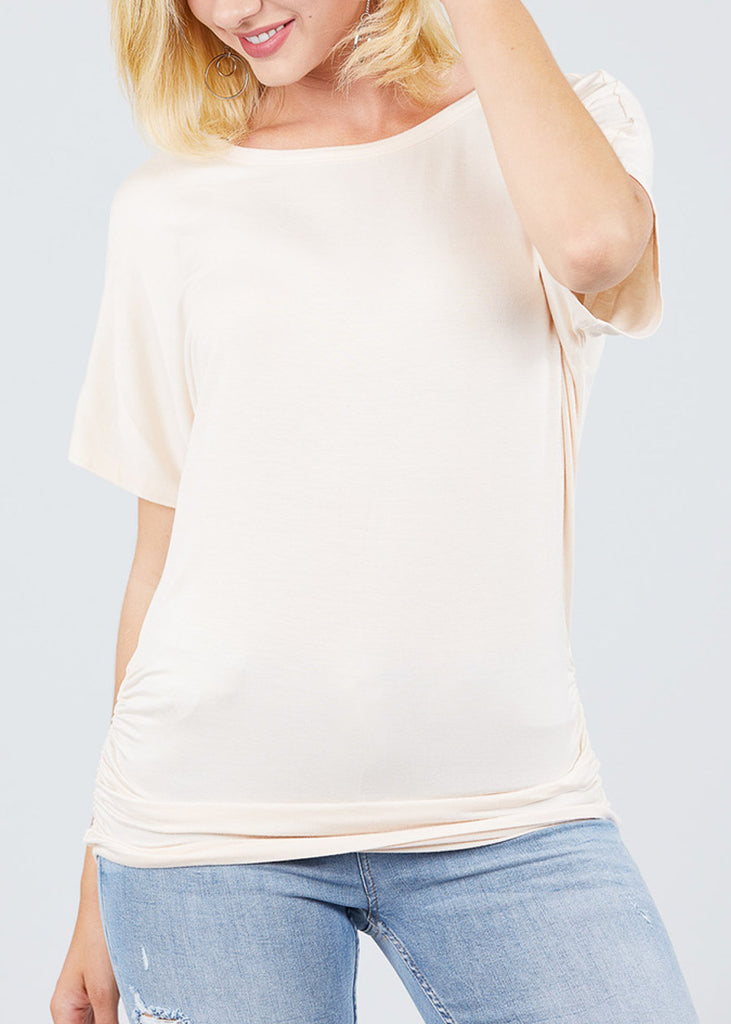 Dolman Sleeve Ivory Top
