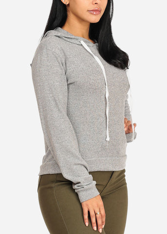 Hooded Sweatshirt (Grey)