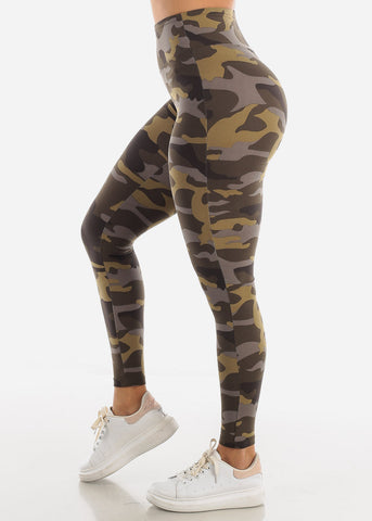 Image of Cute Camouflage Leggings