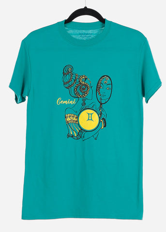 "Image of Jade Graphic T-Shirt ""Gemini"""