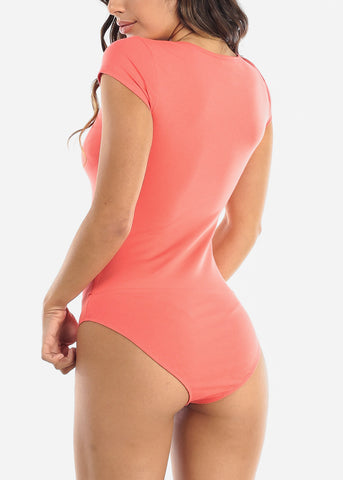 Essential Coral Bodysuit