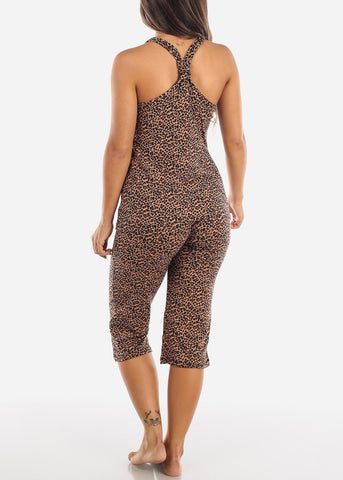Animal Print Top & Capris (2 PCE PJ SET)