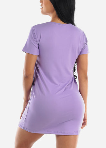 "Purple Sleep Dress ""Nap Team Captain"""