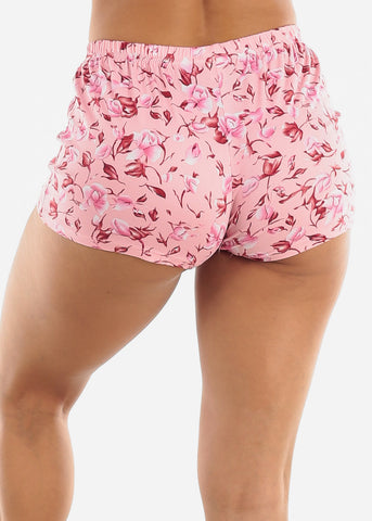 Image of Floral Top and Shorts PJ Set