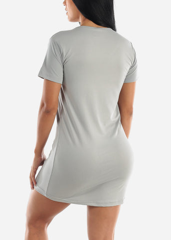 "Grey Sleep Dress ""Nap Team Captain"""