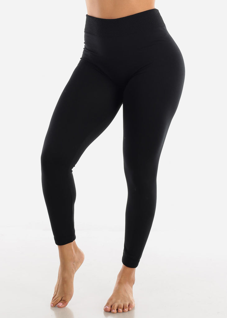 Activewear High Waist Black Leggings