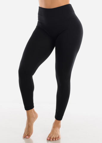 Image of Activewear High Waist Black Leggings