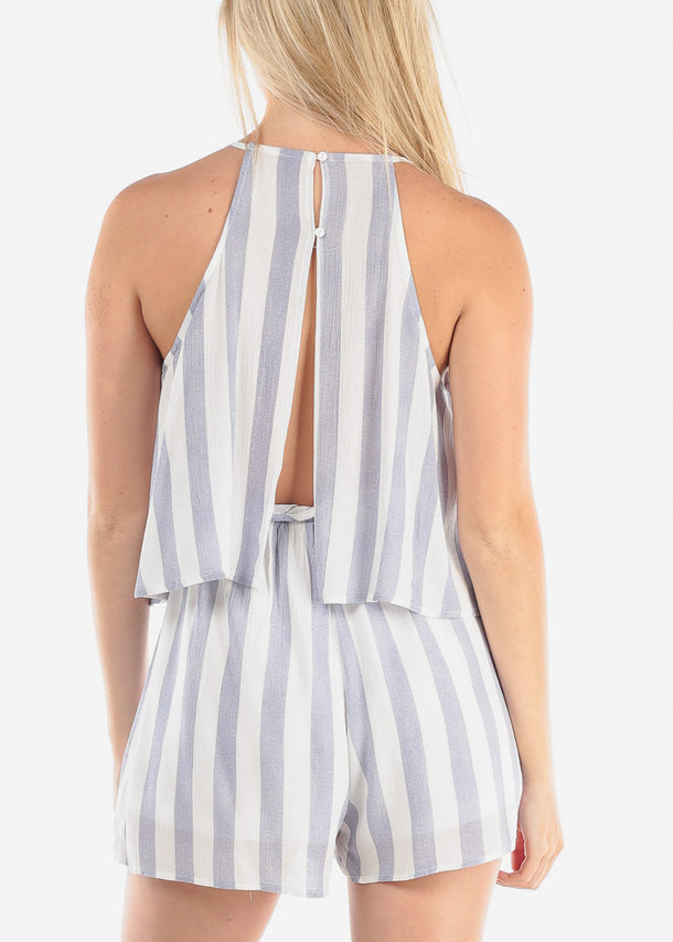 Cute Summer Stripe Romper