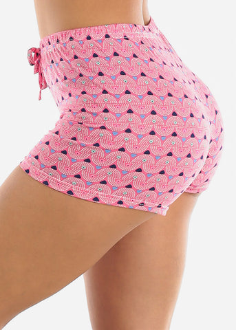 Comfy Fuchsia Sleep Shorts