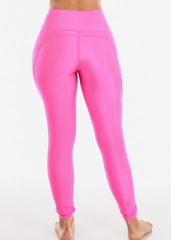 Activewear High Rise Pink Leggings