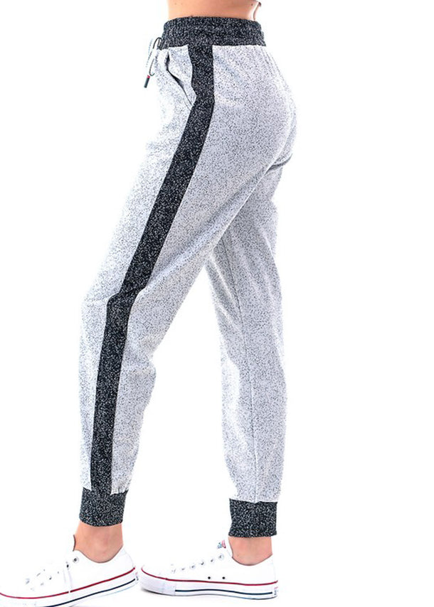 White & Black Jogger Pants