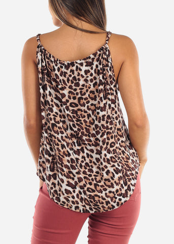 Image of Sexy Animal Print Top
