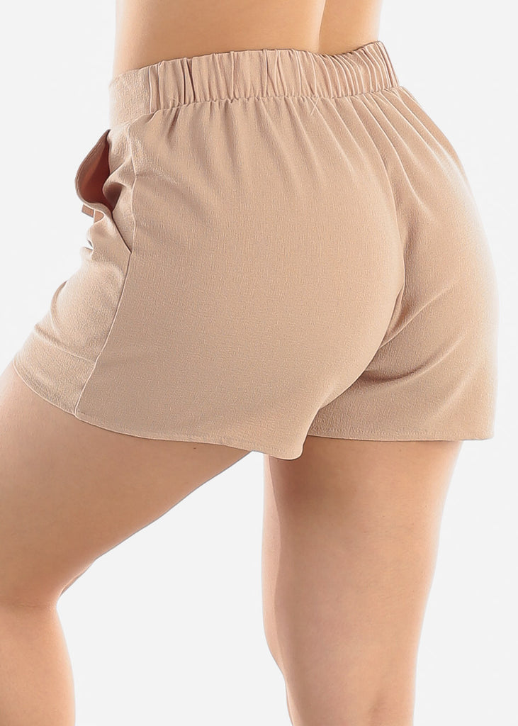 Lightweight Khaki Shorts