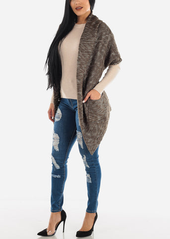 Image of Olive Short Sleeve Cardigan