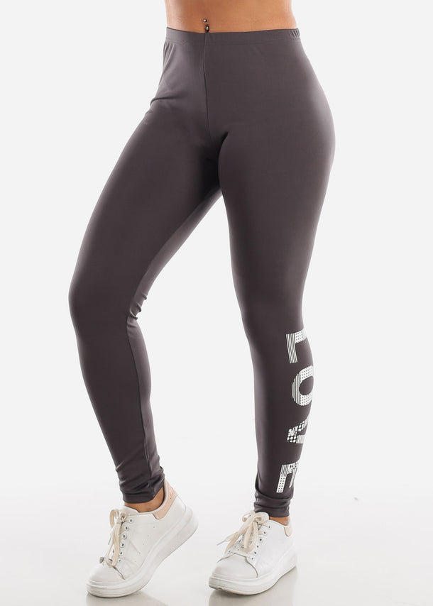 Activewear Dark Grey Leggings
