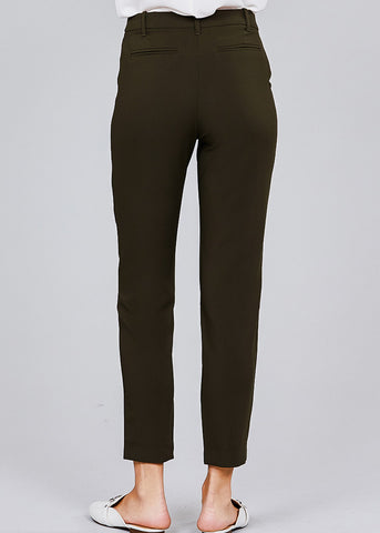 Image of Classic Olive Dress Pants