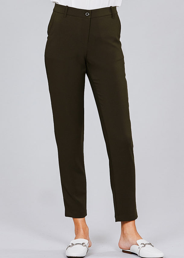 Classic Olive Dress Pants