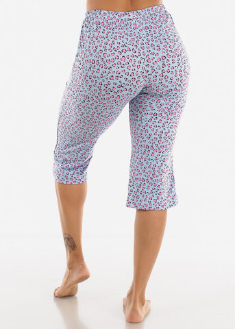 Image of Printed Capris PJ Set