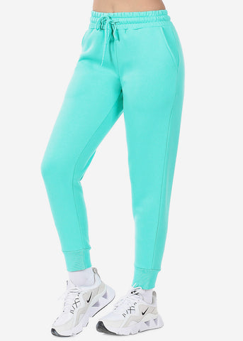 Mint High Waist Jogger Sweatpants