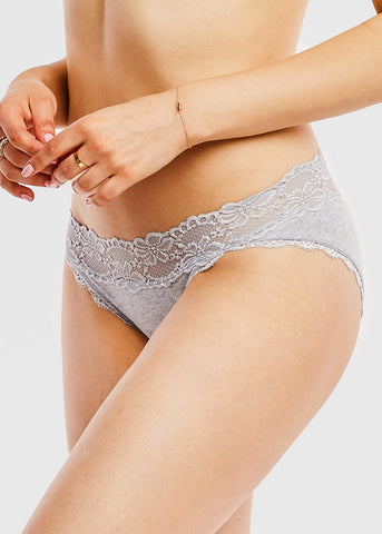 Image of Assorted Cotton Bikini Panties (12 PACK)