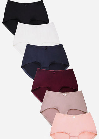 Assorted Brief Panties (12 PACK)