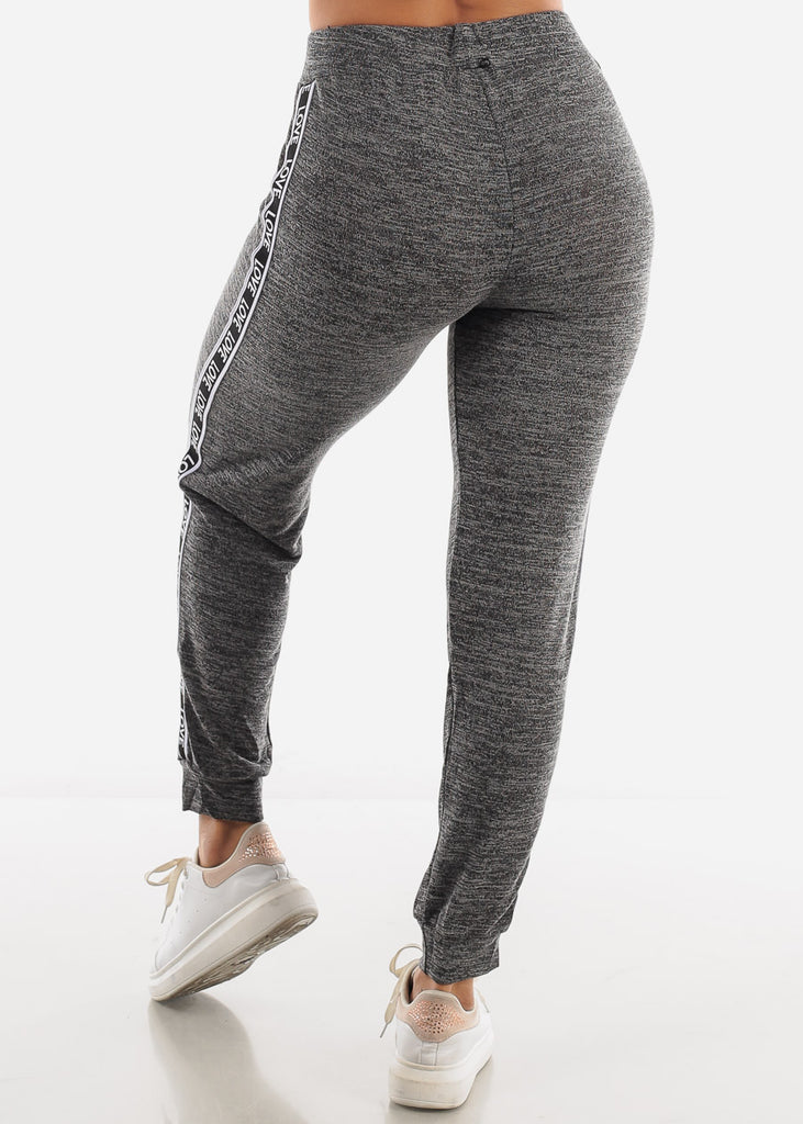 """Love"" Grey Top & Joggers ( 2 PCE SET )"