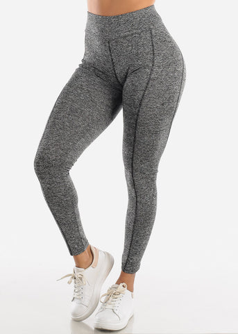 Activewear High Rise Grey Leggings