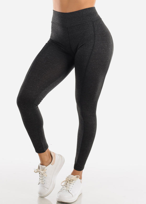 Activewear High Rise Charcoal Leggings