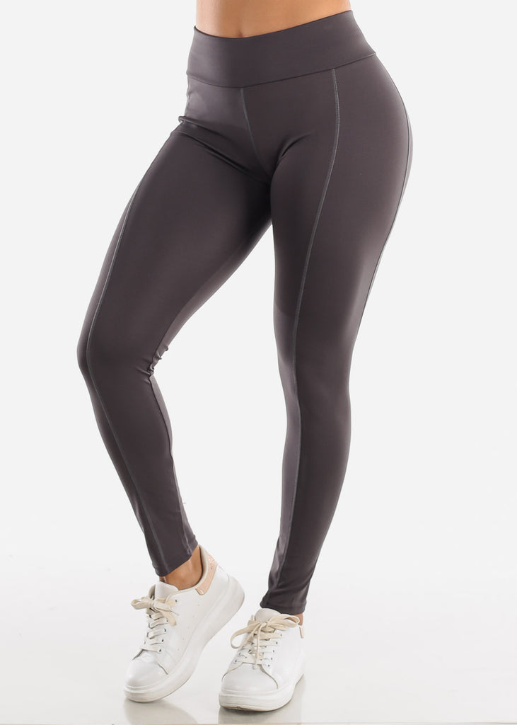 Activewear High Rise Dark Grey Leggings