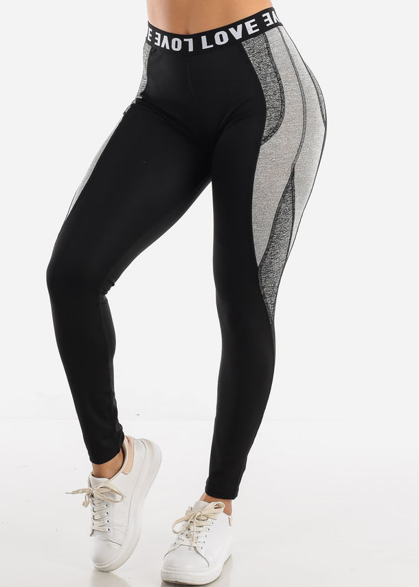 Activewear Black Leggings