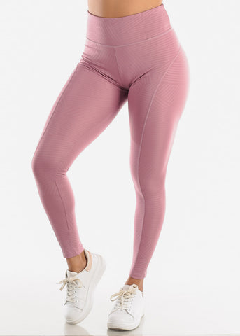 Activewear Mauve Leggings