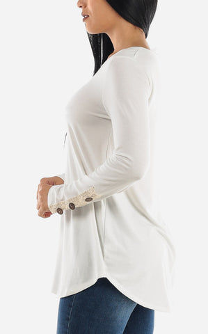 Image of Ivory Tunic Top