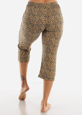 Animal Print Sleepwear Set