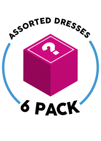 6 Assorted Dresses (6 Pack G31)