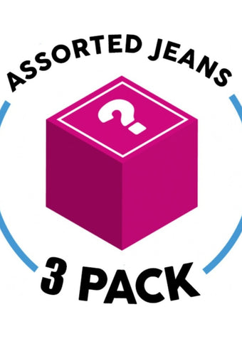 3 Assorted Jeans (3 Pack) (G35)