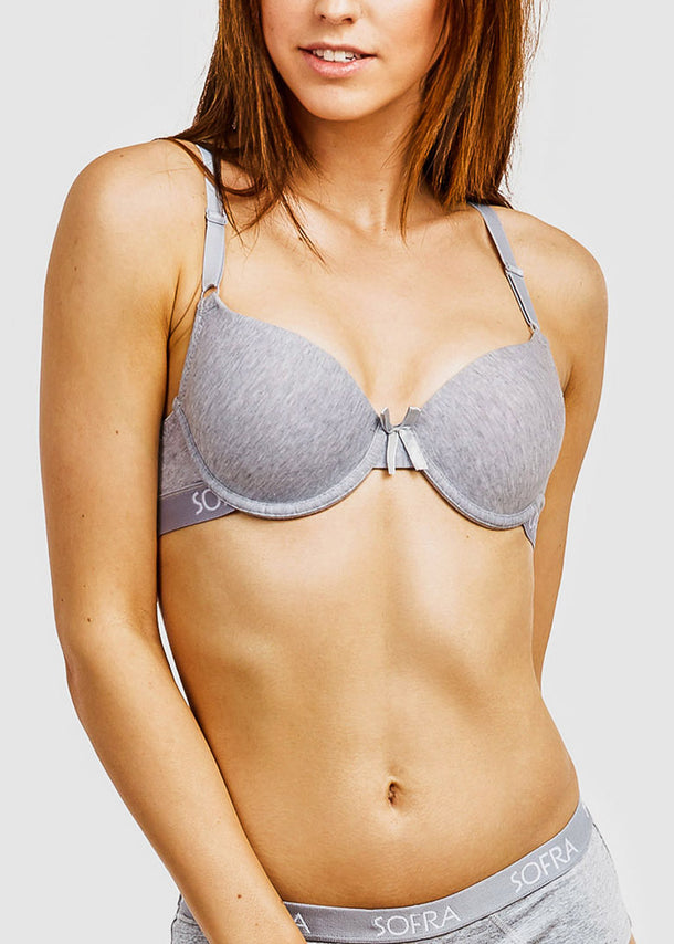 Cotton Full Cup Bras (6 PACK)