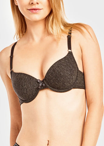 Multicolor Plain Bra (6 PACK)