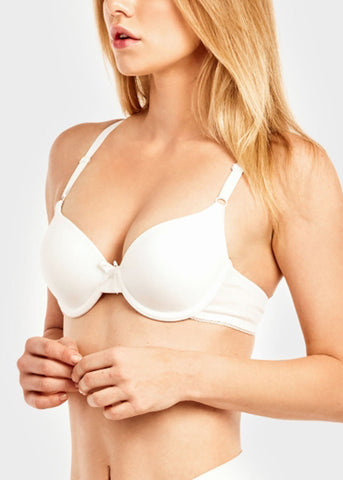 Image of Multicolor Plain Bra (6 PACK)
