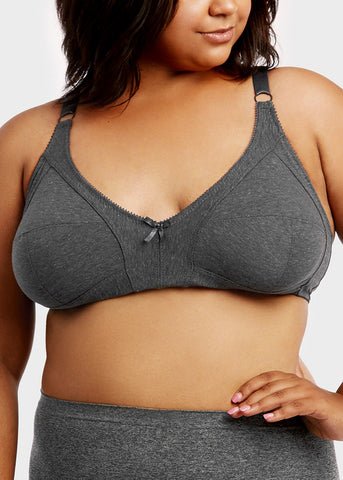 Image of Wireless 3 Hook Bras (6 PACK)