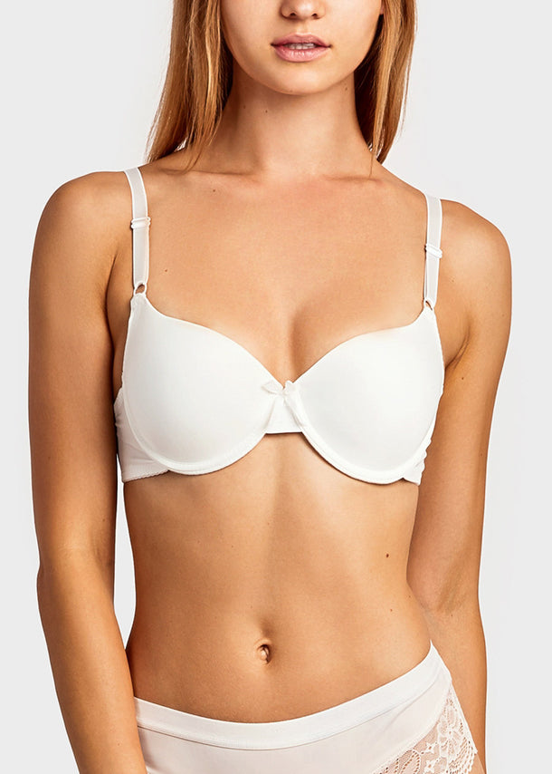 Basic Full Cup Plain Bra (6 PACK)