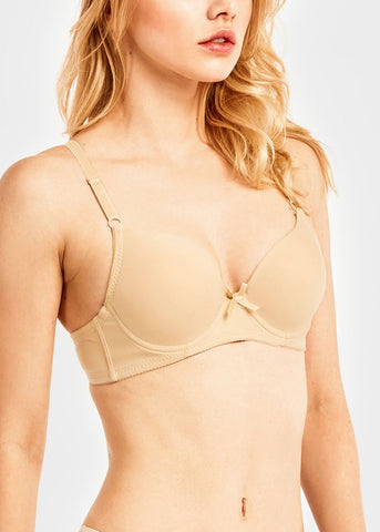 Image of Plain Assorted Full Cup Bra (6 PACK)