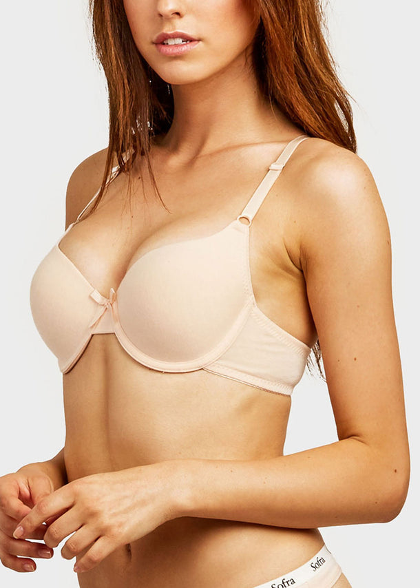 Plain Full Cup Bra (6 PACK)